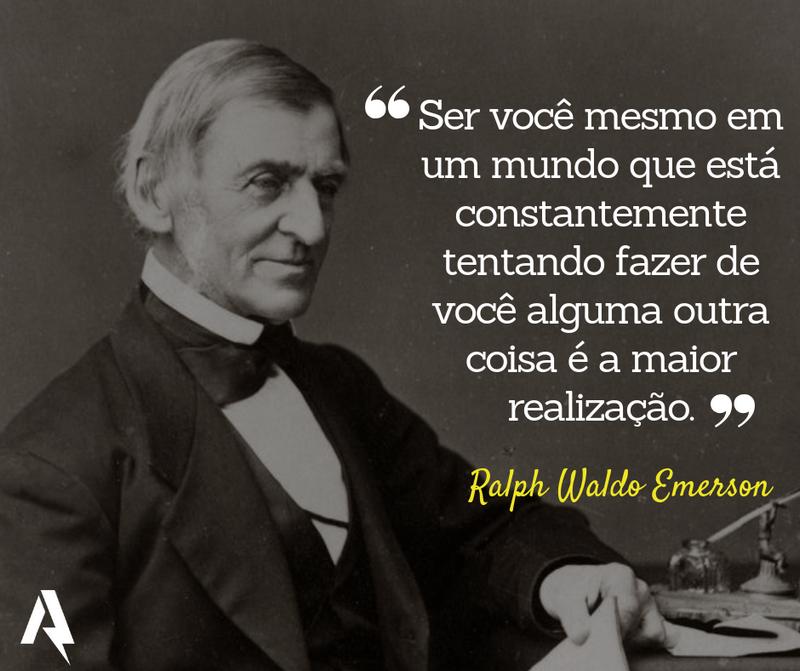 frases de amor-próprio (Ralph Waldo Emerson)