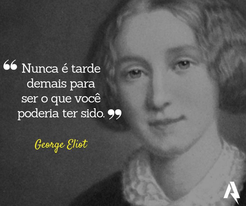 frases de amor-próprio (George Eliot)